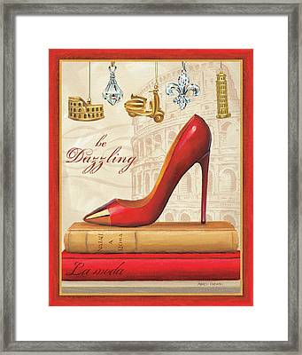 Holiday Sparkle Iv Framed Print