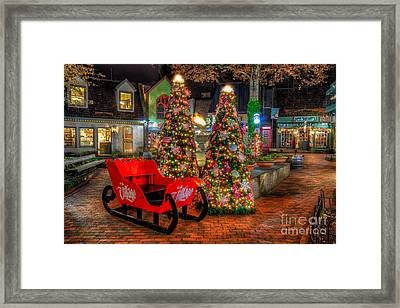 Cristmas In The Smokies Framed Print