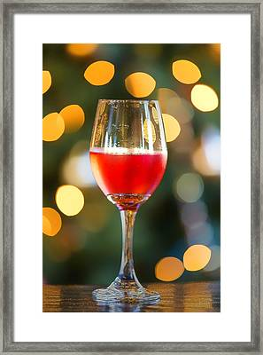 Holiday Spirits Framed Print by Bill Tiepelman