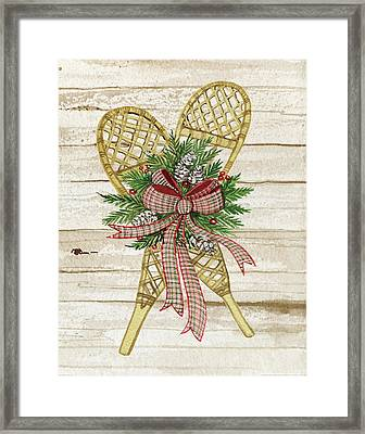 Holiday Sports IIi On Wood Framed Print by Kathleen Parr Mckenna