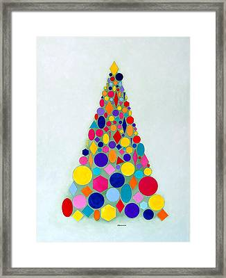 Holiday Tree #1 Framed Print by Thomas Gronowski