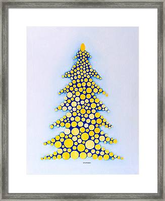 Holiday Tree #2 Framed Print by Thomas Gronowski