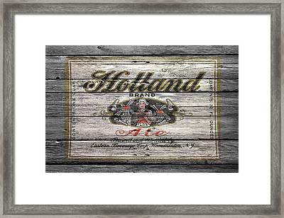 Holland Ale Framed Print