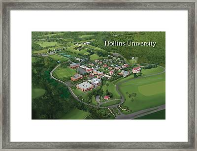 Hollins University Framed Print by Rhett and Sherry  Erb
