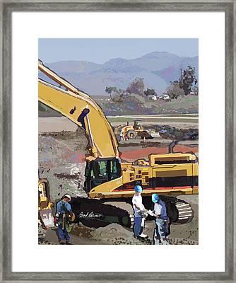 Hollister Framed Print by Brad Burns