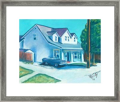 Hollister Home Framed Print