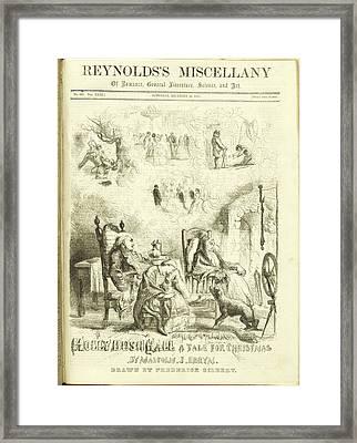 Holly Bush Hall Framed Print by British Library