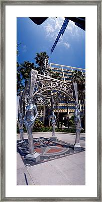 Hollywood Boulevard Los Angeles Ca Framed Print by Panoramic Images