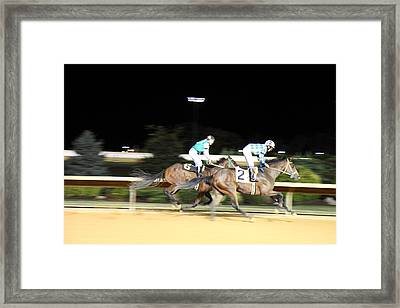 Hollywood Casino At Charles Town Races - 121212 Framed Print by DC Photographer