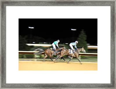 Hollywood Casino At Charles Town Races - 121213 Framed Print by DC Photographer