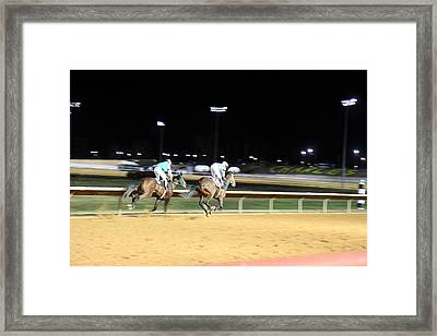 Hollywood Casino At Charles Town Races - 121219 Framed Print by DC Photographer