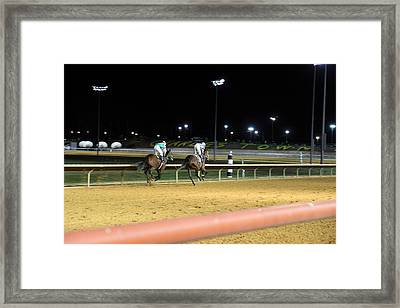 Hollywood Casino At Charles Town Races - 121221 Framed Print by DC Photographer