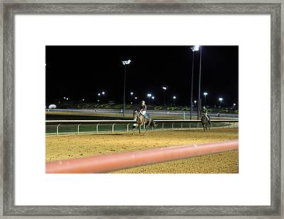 Hollywood Casino At Charles Town Races - 121222 Framed Print by DC Photographer