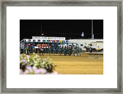 Hollywood Casino At Charles Town Races - 121237 Framed Print
