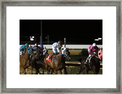 Hollywood Casino At Charles Town Races - 121241 Framed Print