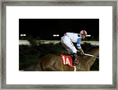 Hollywood Casino At Charles Town Races - 121261 Framed Print