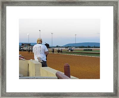 Hollywood Casino At Charles Town Races - 12128 Framed Print