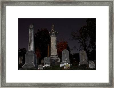 Hollywood Cemetery Framed Print