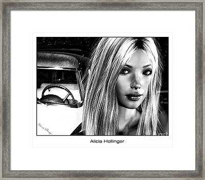 Hollywood Confidential Framed Print