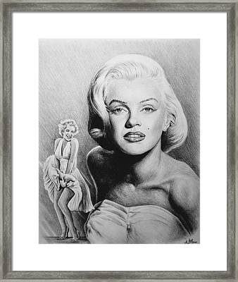 Hollywood Greats Framed Print by Andrew Read