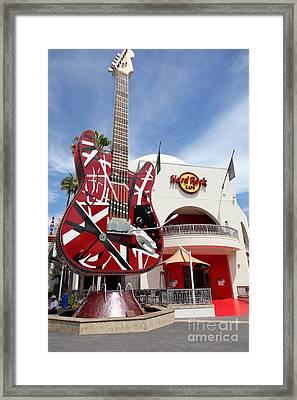Hollywood Hard Rock Cafe In Los Angeles California 5d28422 Framed Print