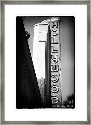 Hollywood History Framed Print