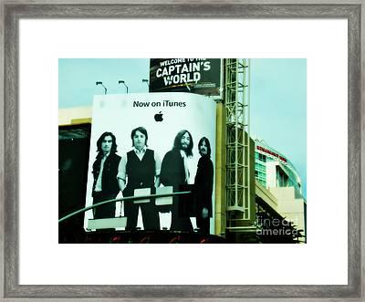 Hollywood Framed Print by Linda De La Rosa