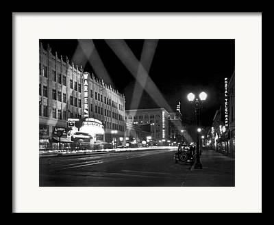 Open Air Theater Framed Prints