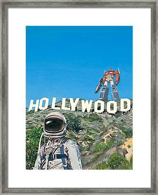 Hollywood Prime Framed Print by Scott Listfield