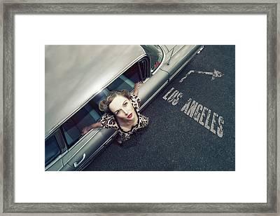 Hollywood Road Framed Print