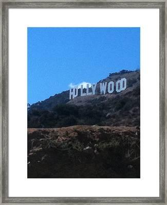 Hollywood Framed Print by Selia Hansen