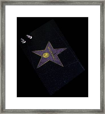 Hollywood Star Framed Print by Viktor Savchenko