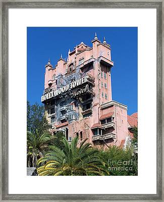 Hollywood Tower Hotel Framed Print