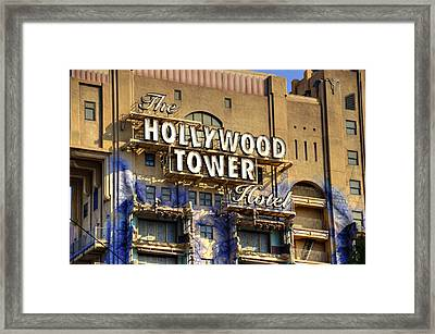Hollywood Tower Framed Print
