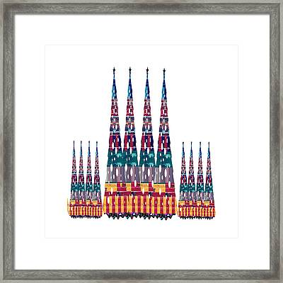 Hollywood Towers Buy Any Faa Product Or Download For Self-printing  Navin Joshi Rights Managed Image Framed Print by Navin Joshi