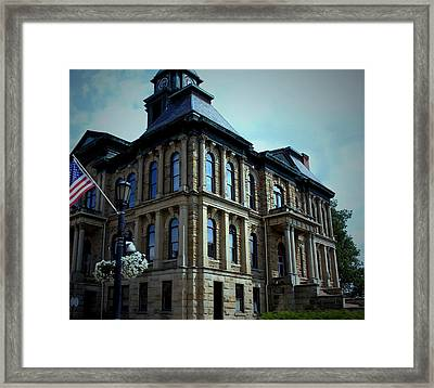 Holmes County Ohio Courthouse Framed Print