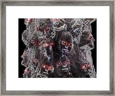 Holocaust A World In Mourning Framed Print