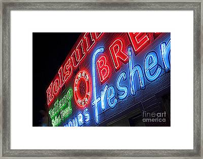Holsum Las Vegas 3 Framed Print by Kip Krause