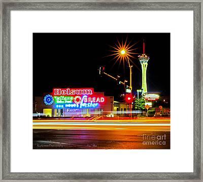 Holsum Las Vegas II Framed Print by Kip Krause