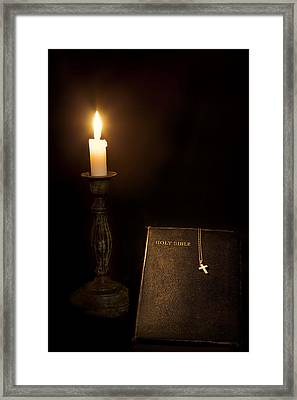 Holy Bible Framed Print by Bill Wakeley