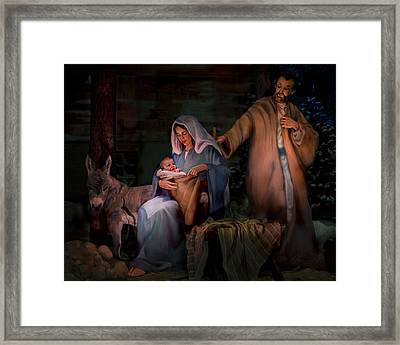 Holy Child Framed Print