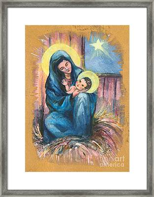 Holy Christmas No. 1  Framed Print by Elisabeta Hermann