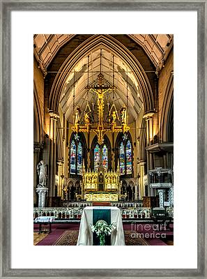 Holy Cross Framed Print by Adrian Evans