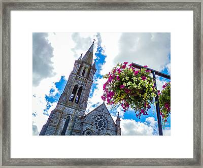 Holy Cross Church Steeple Charleville Ireland Framed Print