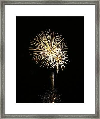 Holy Exploding Palm Trees Framed Print by Alexandra  Rampolla