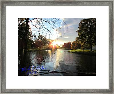 Holy Ground Framed Print by Michael Rucker