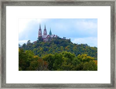 Holy Hill Framed Print by John Kunze