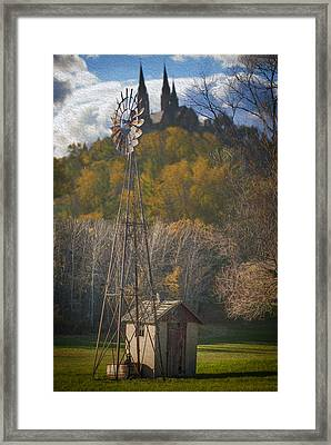Holy Hill  Wisconsin Framed Print