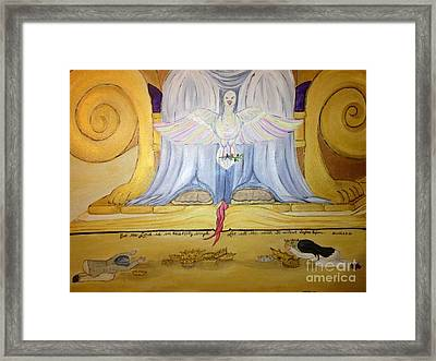 Holy Hush Framed Print by Michelle Bentham