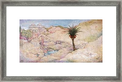 Holy Land Framed Print